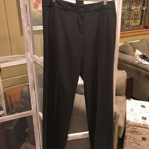 The Limited Pinstriped Dress Pants